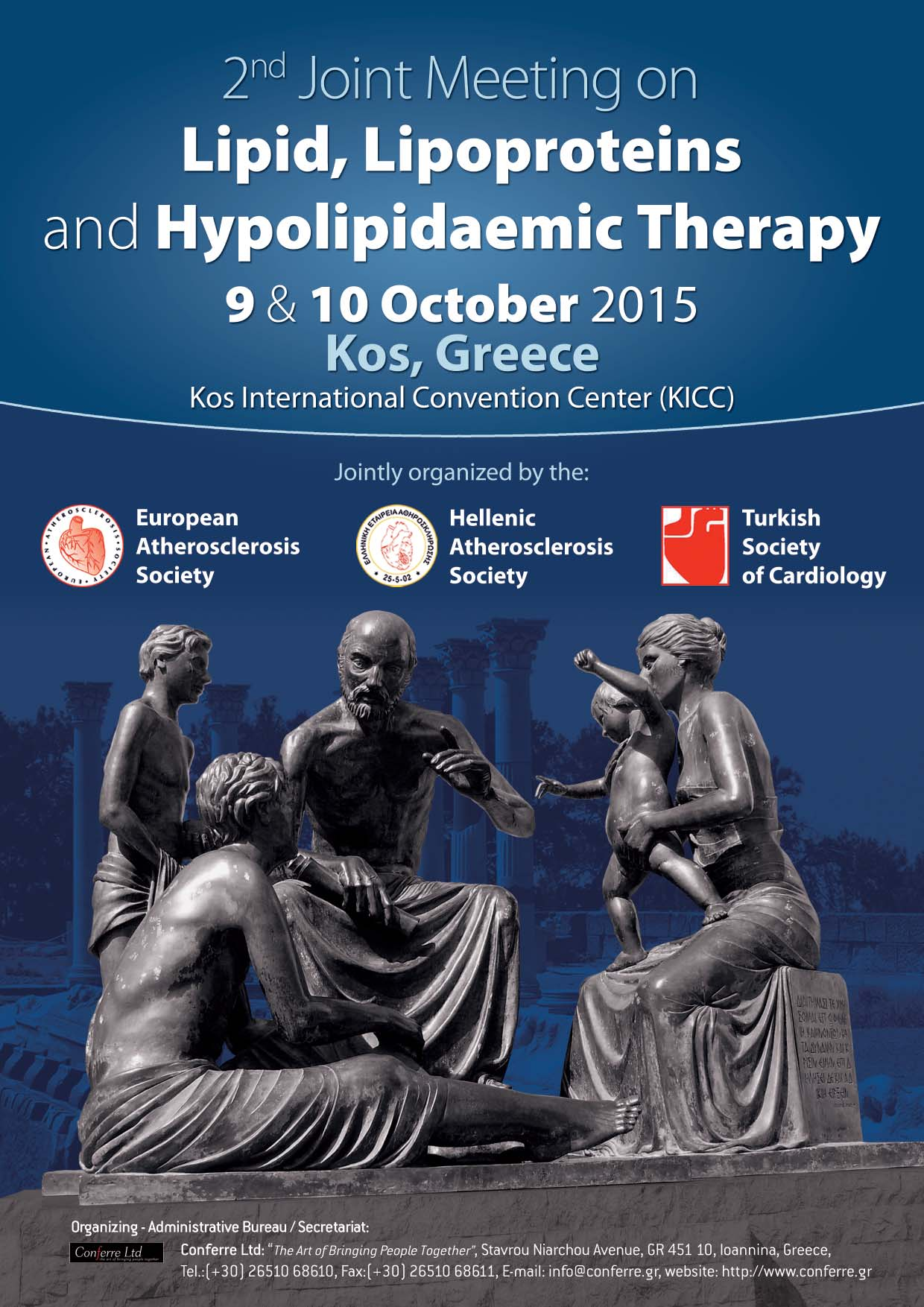 2nd Joint Meeting on Lipid, Lipoproteins and Hypolipidaemic Therapy, 9 & 10/10/2015 - Kos island